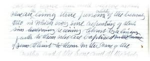 Exhibit 7. Excerpt from handwritten draft of Manuscript 21, 1906.